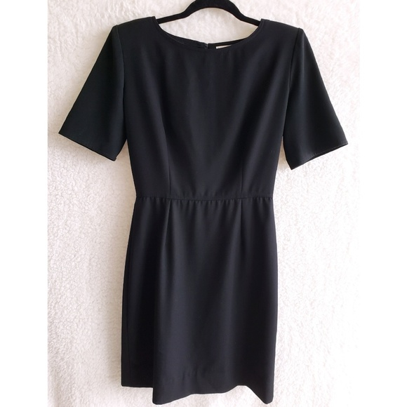 Valentino Dresses & Skirts - VALENTINO Black Short Sleeve Sheath Dress